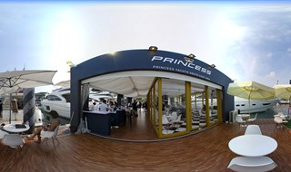 SIngapore Yacht Show Princess booth