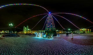 2016_Grodno Christmas tree