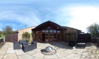 Inpatient Unit Patio, St Clare Hospice