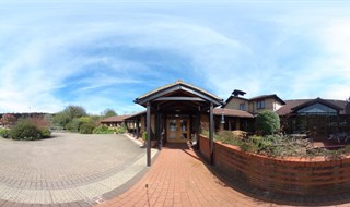 Front Entrance, St Clare Hospice