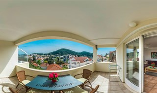 Apartments Swallow - Terrace view, Dubrovnik, 2016.