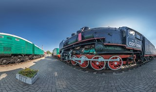 Belarus. Brest. The Museum of railway transport.