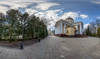 Palace and Park complex in Gomel