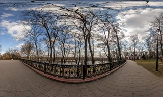 360 panorama Palace and Park complex in Gomel