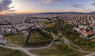xarilaou thessaloniki from a birds eye view