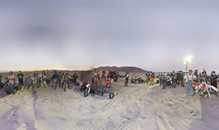 ZR Night Race Dunas Laguna salada.