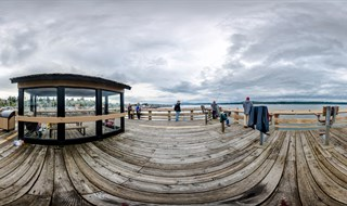 Discovery Fishing Pier, Campbell River, British Columbia, Canada