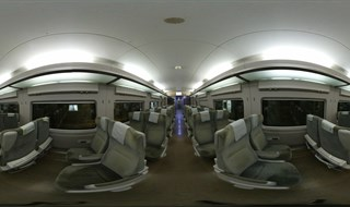 KTX-Sancheon 2nd class inside