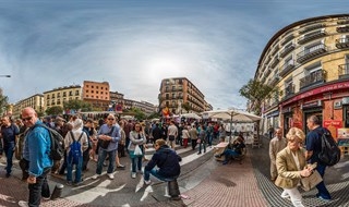El Rastro flea market, Madrid, 2015. ------------ croatiapano.com ------------- Spain, Europe, 2015,