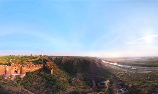 Rohtas Fort Air Pano