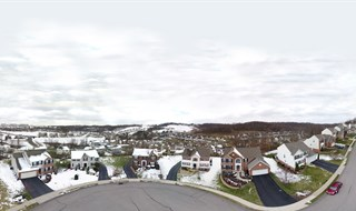 Aerial 360 pano of McDonald, PA Community