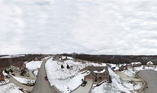 Aerial 360 Pano: South Fayette Twp., community