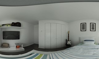 BEDROOM 2 design sketchup or 3dmax