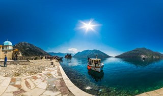 Our Lady of the Rocks, Perast,Montenegro, 2017.  ela