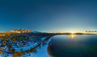Sunset at Lake Tahoe