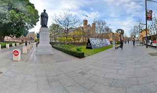 Adelaide Uni, North Terrace 360 by 360 panoramic SA