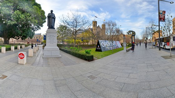 Adelaide uni north terrace 360 by 360 panoramic sa for Landscaping adelaide north
