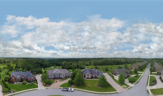 Aerial 360 Pano of Nevillewood Community near Pittsburgh