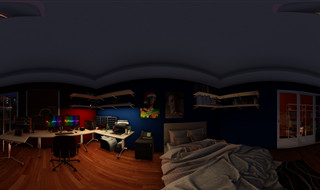 Sigfried 'The Sig' Tendo's Room - Night / Lights Off
