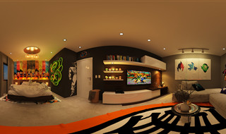 Dragon Ball 360 Interior Design