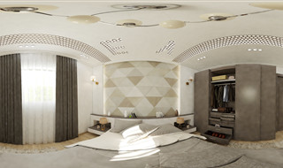 Master Bed Room designed by Ahmed Sarhan -  01014702005