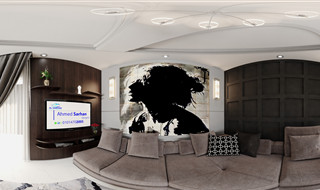 Living Room designed by Ahmed Sarhan - 01014702005